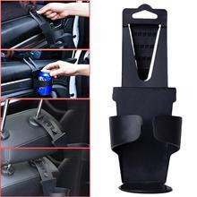 Window Seat Headrest Universal Vehicle Car Truck Door Mount Drink Bottle Cup Holder Stand Black Car Interior Accessories#621