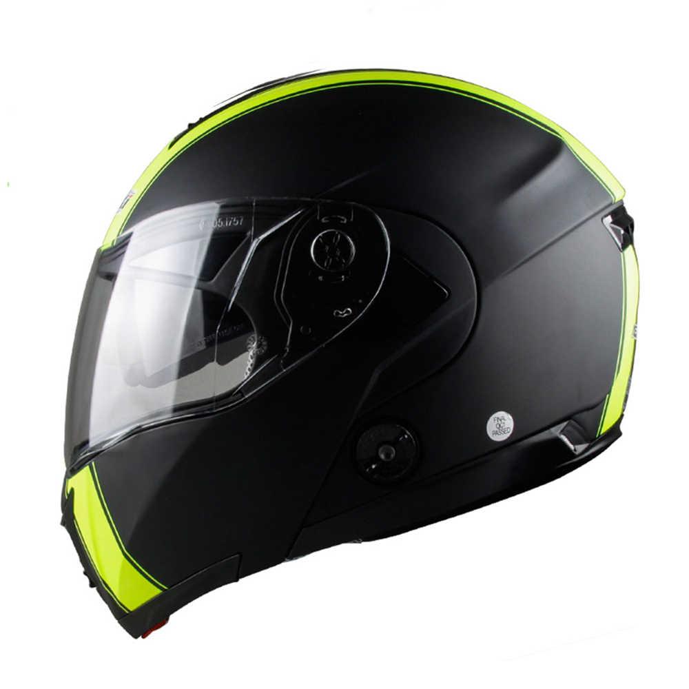 45a91523 ... NENKI Motorcycle Helmet Full Face Street Moto Helmet Touring Motorbike  Racing Flip Up Helmet With Dual ...