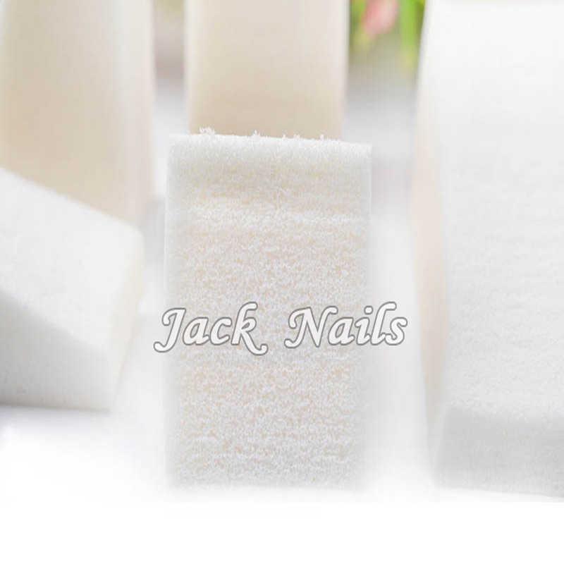 8 unids/pack blanco para decoración de uñas de Arte de uñas herramientas lindo gradiente esponjas belleza manicura accesorios de diseño