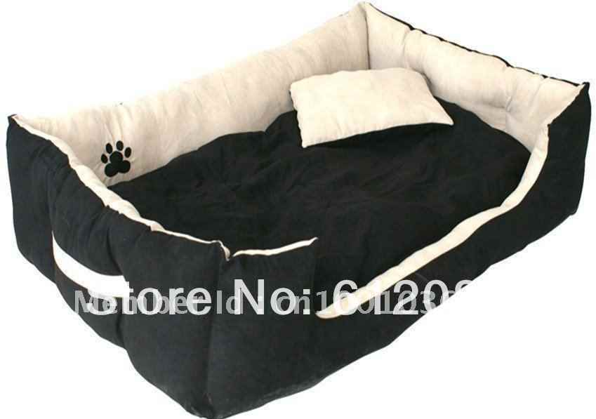 Free shipping Clasic pet products dog bed classic faux Suede fabric light beigh with paw 1pc for sell ткань для нанесения