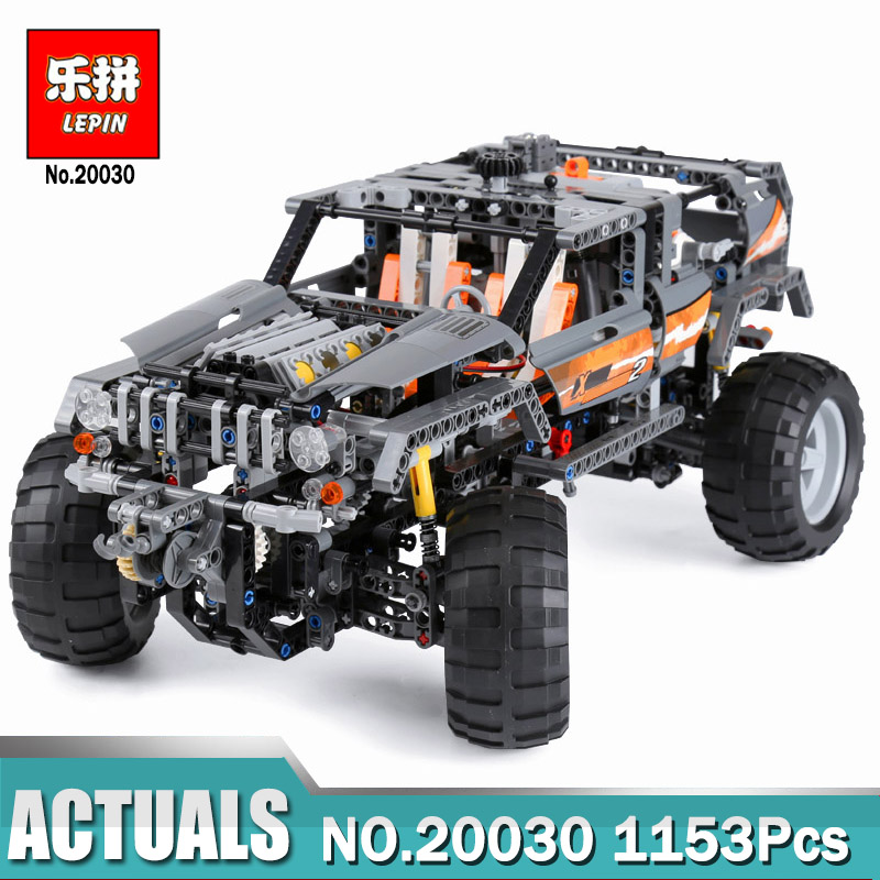 Lepin 20030 Technic Ultimate Series The Off-Roader Compatible Legoing 8297 Building Blocks Bricks Toys as Boys educational Gift lepin 20030 1132pcs technik ultimate off roader cars legoingly 8297 sets building nano block bricks toys for boy gifts