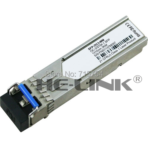 SFP-OC3-MM - OC3/STM-1 SFP 1310nm  2km over MMF(Compatible with Cisco)