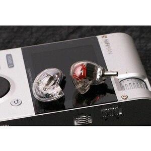 Image 2 - Nowy SE846 DIY 5BA napęd w ucho słuchawki z każdej strony 5 zbalansowana armatura odpinany odłącz kabel MMCX monitorowanie HIFI słuchawki
