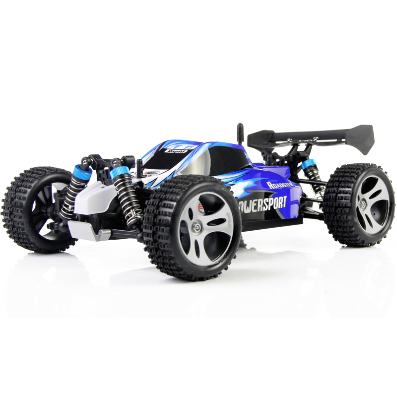 WL Brinquedos A959 1:18 Completa Proporcional 2.4G Carro de Controle - Brinquedos com controle remoto - Foto 3