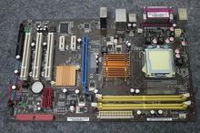 Бесплатная доставка 100% оригинал материнская плата для asus p5ql se ddr2 lga775 solid-state/восемь-phase power desktop материнских плат