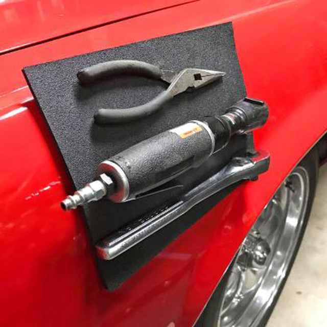 Car Mag-Pad Magnetic Pad Holds Your Tools While Working Tire Repair Tool Magnetic Magic Pad holder