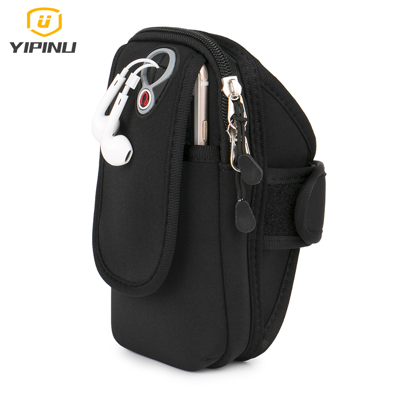 Outdoor Running <font><b>Bag</b></font> Sports <font><b>Arm</b></font> <font><b>Bag</b></font> For 5.2~6 Inch <font><b>Mobile</b></font> <font><b>Phone</b></font> Pro Case Men Momen Fitness Package Jogging Workout Cover