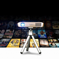 4k projector 3D projector full hd WIFI chips 300inches contrast ratio 900:1 1800 lumens dlp projector beamer