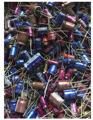100g Mixed Capacitors Mixed Electronic Components Package Red Robe Purple Robe Brown God Electrolytic Capacitor