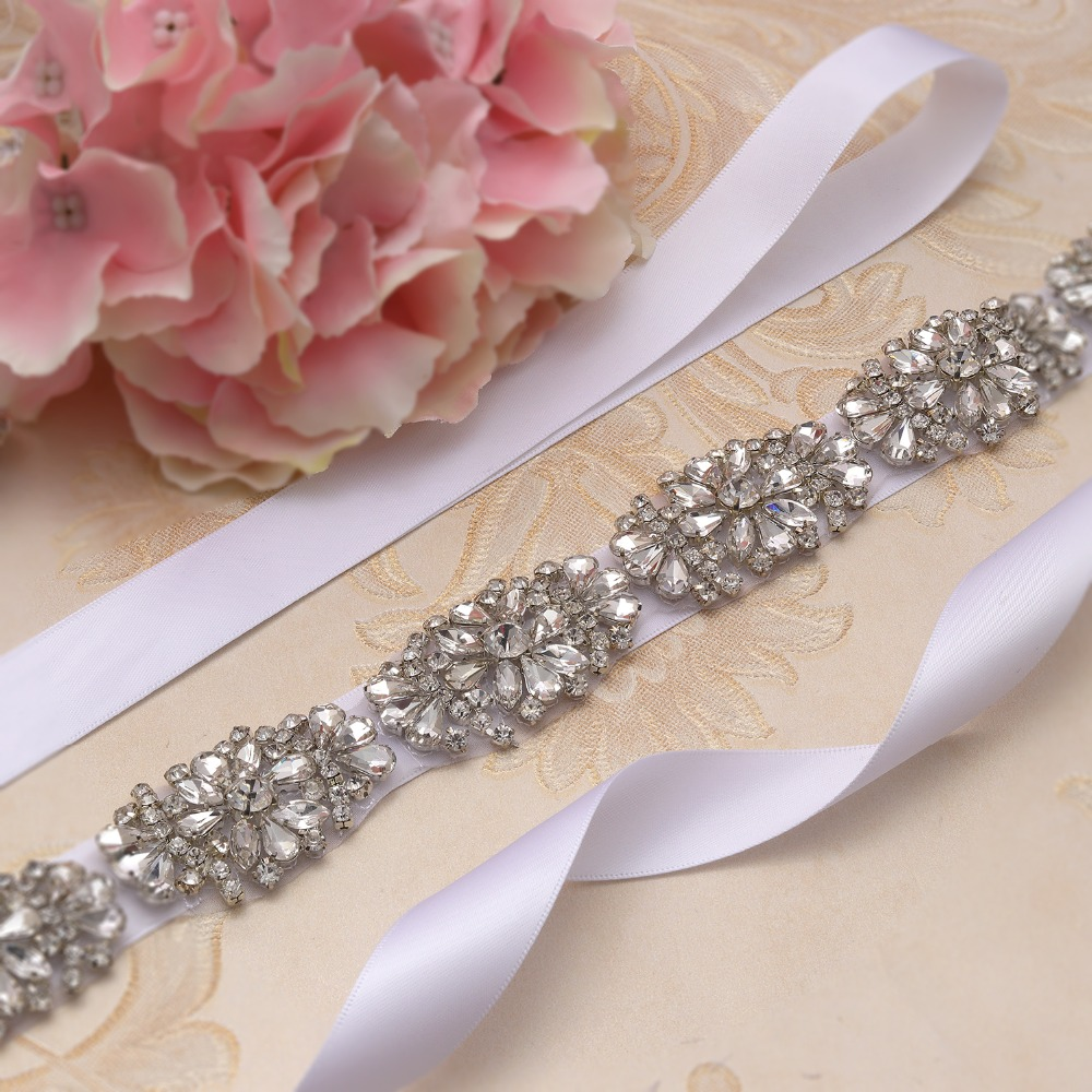 Aggressiv Yanstar Diamant Braut Gürtel Perlen Strass Hochzeit Gürtel Kristall Blume Hochzeit Schärpe Für Frauen Kleid Xy886 Hochzeit Zubehör Weddings & Events