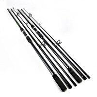 Carbon Fishing Rod 3.6m 3.9m Super Hard Three Sections Carp Poles Long Shoot Fly Fishing Travel Fishing Rod