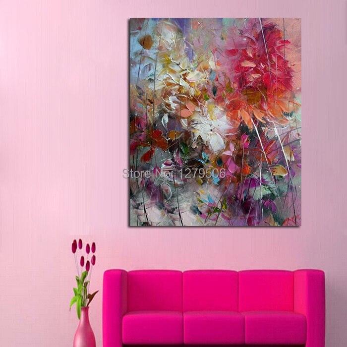 ba pintura al leo tamao grande pintado a mano pintura al leo abstracta sobre