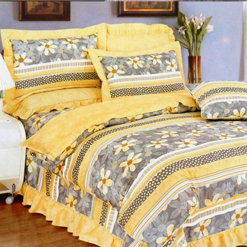 Modèle de Plaid imprimé réactif 100% coton Duver couverture literie lit ensemble roi reine taille livraison gratuite