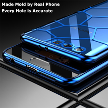 Luxury Silicone Soft cover Honor 9 Lite Case For Huawei