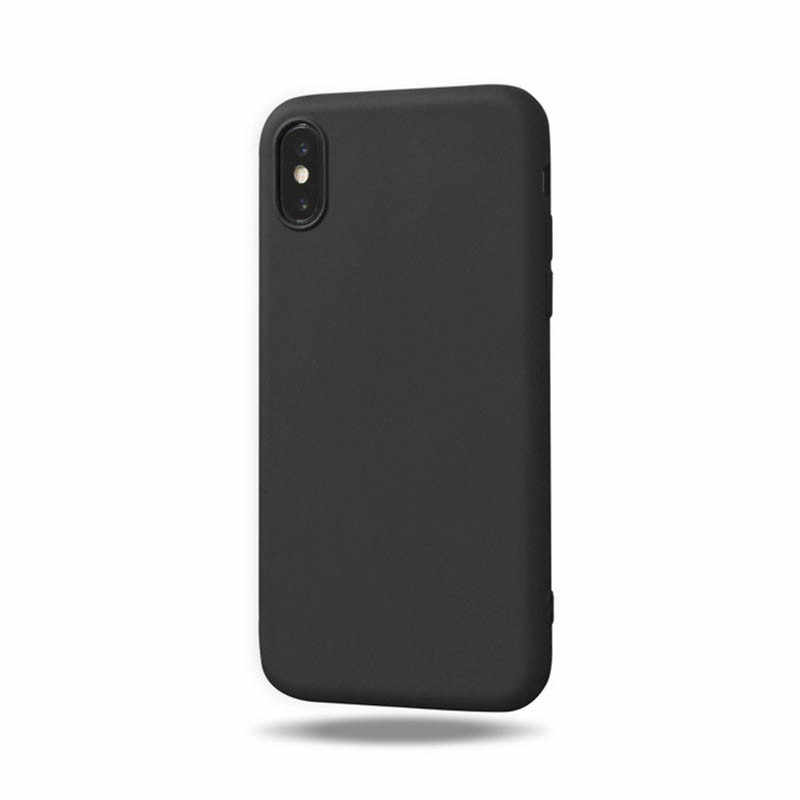 Cover posteriore in silicone colorato per iphone 8 8 Plus X 7 7S 7 Plus 5 5s SE 6 6S custodie per telefoni per iphone 11Pro 8 XS Max XR custodie di lusso
