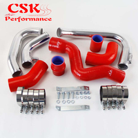 Intercooler Piping PIPE Kit Fits for Audi A4 1.8T Turbo B6 Quattro 2002 2006 Blue / Black / Red