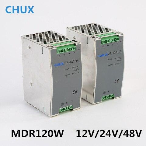 trilho din switching power supply 120 w 48 24 12 v v v dc ac