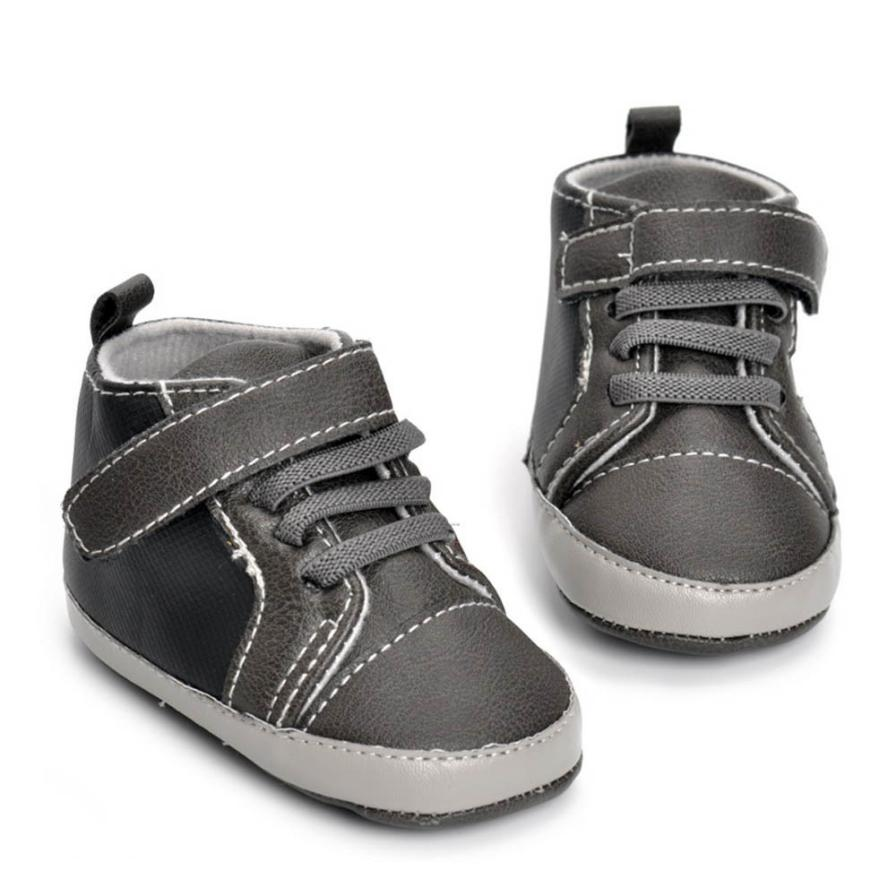 Baby Shoes 2017 Fashion Newborn Infant Baby Girls Boys Crib Shoes Soft Sole Anti-slip Sneakers D50