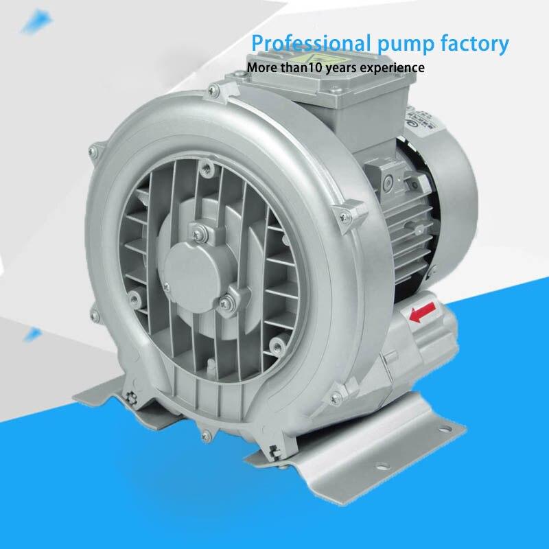 40% off Manufacturer HG-370 380/220v50hz Air Blower Vacuum Pump High Pressure Blowers 15 2m3 h vacuum blower high pressure turbine blower industry air pump model hg 120
