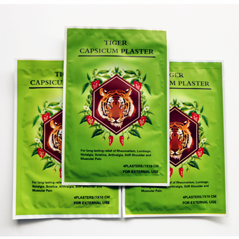 2bags=8pcs/lot Chinese Herbal Heating Patch Natural Ingredients Chilli Hot Capsicum Warmte Plaster Cure Arthritis Plasters