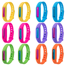 1PC Bracelet+Anti Mosquito Capsule Pest Insect Bugs Control Repellent Repeller Wristband For Kids Mosquito Killer Color randomly