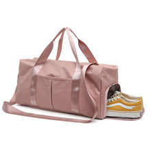 Sports Gym Fitness Bag Shoulder Crossbody Women Men Sac De Yoga Handbag Travel Bags with Dry Wet Separation Shoe Warehouse