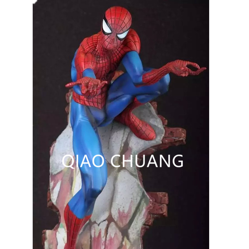 Crazy Toys Spiderman The Amazing Spider-man PVC Action Figure Collectible Model Toy 2 Styles 18 42.5CM RETAIL BOX G59 the flash man aciton figure toys flash man action figures collectible pvc model toy gift for children
