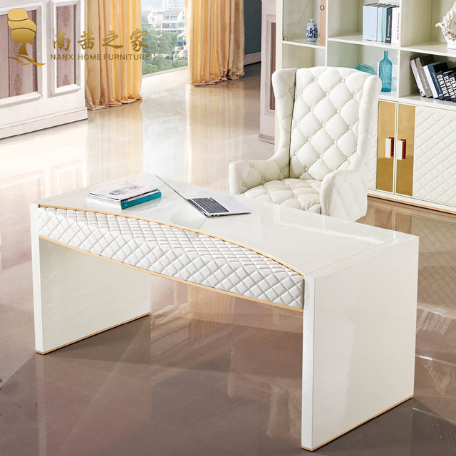 italian design home furniture computer table desk mdf office