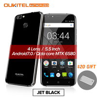 Four Lens Oukitel New Mobile U22 3G Smartphone 5 5inch Android 7 0 2700mAh FHD MTK