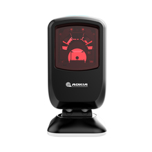 Laser Barcode Scanner Code-Reader Hand-Free-Stand Automatic-Omnidirectional USB 20-Line-Bar