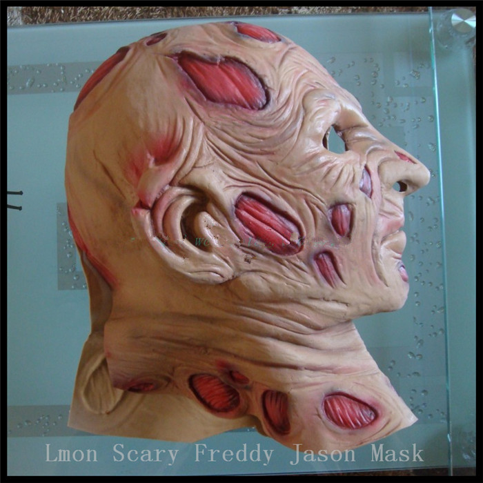 Halloween fête Cosplay effrayant films masque Jason Voorhees Freddy Hockey masque Festival fête Halloween mascarade masque adultes taille - 3