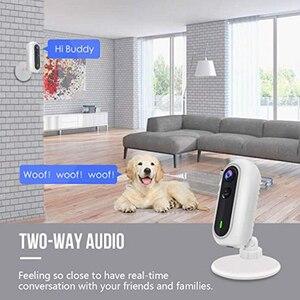 Image 4 - Wdskivi Batterie HD 1080P Mini IP Kamera 100% Drahtlose WiFi Kamera Sicherheit Überwachung CCTV Kamera Baby Monitor iCSee App