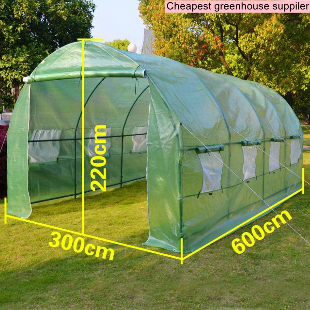 Online buy wholesale tunnel greenhouse from china tunnel for Viveros baratos