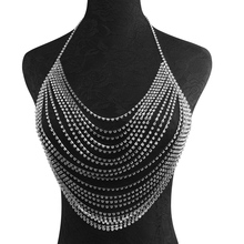 FREE SHIPPING !! Sexy Halter Shining Diamonds Party Crop Tops JKP974