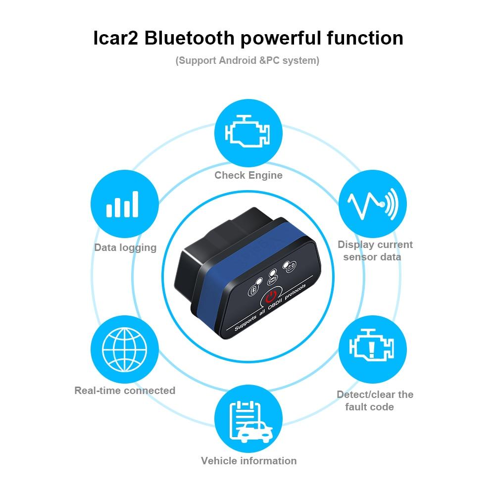 HTB1JoLqbBOD3KVjSZFFq6An9pXaV Vgate iCar 2 ELM327 Wifi/Bluetooth OBD2 Diagnostic Tool for IOS iPhone/Android Icar2 Bluetooth wifi ELM 327 OBDII Code Reader