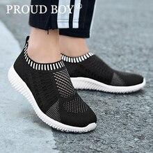 Летние мужские спортивные туфли обувь для женщин Спорт на открытом воздухе без шнуровки легкие удобные дышащая сетка прогулочные носки обувь унисекс