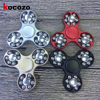 1 Piece Tri Spinner Fidget Toy 5 Colors Plastic EDC Hand Spinner For Autism And ADHD