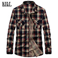 11 Color Pure Cotton Women Men Plaid Shirt Long Sleeve Camisa Slim Fit Mens Dress Shirts Brand Clothing Checkered Shirt,UMA170