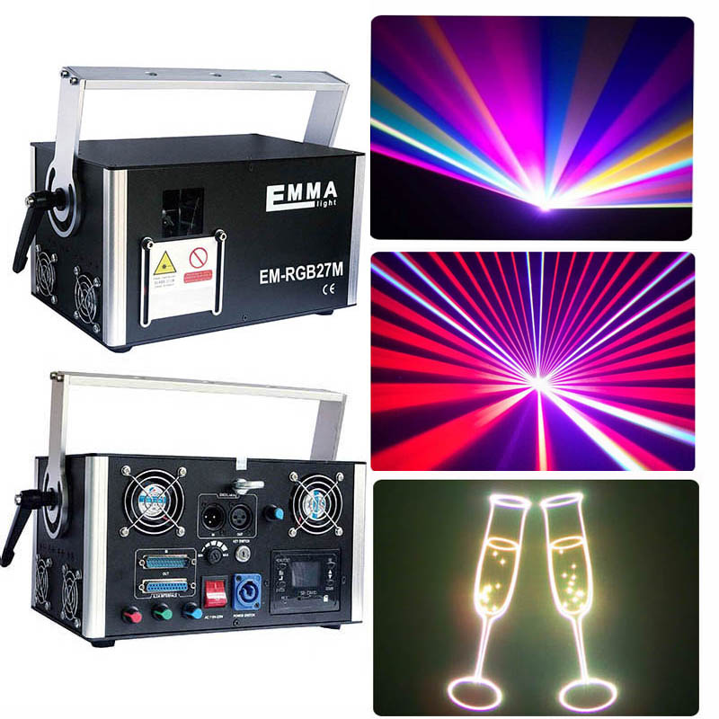 100% Quality Hot Sale 2ch Dmx-512 Led Stage Light Par 4w Rgb Lighting With Ilda Controlfor Laser Projector Party Club Dj House Disco Good Reputation Over The World