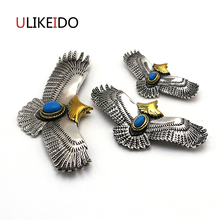 Pure 925 Sterling Silver Jewelry Eagle Charms Pendants For Men And Women Thai Silver Birds Necklace  Chain Fine Gift 659 недорого
