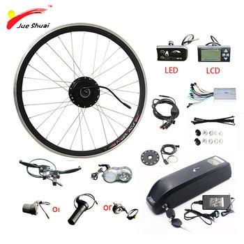 Kit de bicicleta eléctrica con batería de litio, para rueda de Motor...