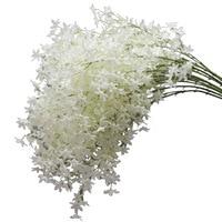 5pcs Artificial Cherry Blossoms Twig Flower 130cm Long Branch Fake Plants Wedding Decoration Accessories Faux Foliage JY227