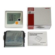 Повышенный, цифровой монитор кровяного давления пульсометр NIBP пульсометр lcd CONTEC08D CONTEC