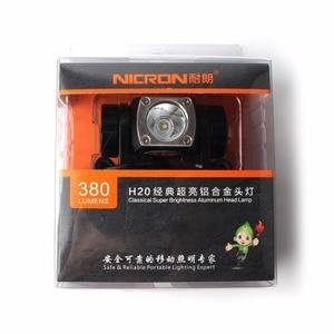 Image 3 - Светодиодный фонарь NICRON, алюминиевый фонарь, 380 лм, 150 м, для наружного использования, H20