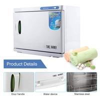 23L Hot Towel Cabinet UV Light Sterilizer Facial Salon Spa Towel Machine Electric Towel Warmer Towel Disinfection Cabinet