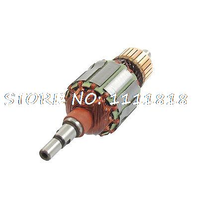 AC 220V Angle Grinder Replacement Electric Motor Rotor for Makita 4510 dca s1j ff04 25 copper 30mm rotor core motor stator ac 220v for electric grinder