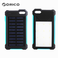 20000mAh NEW Large Capacity Portable Solar Powered Power Bank Battery Charger With Dual USB Ports 12
