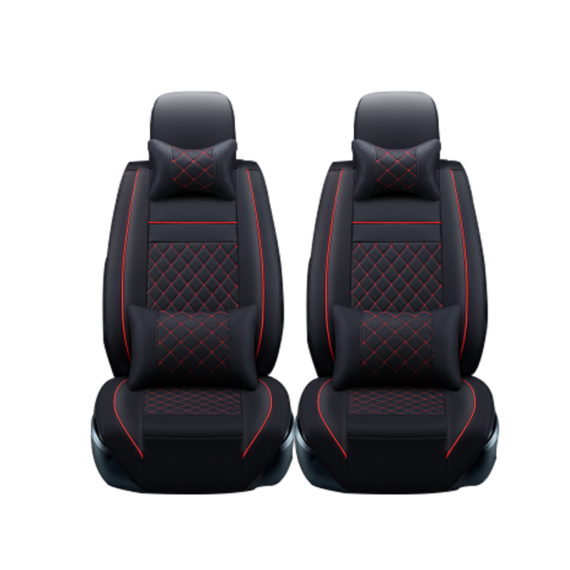 Leather car seat covers For Hyundai IX35 IX25 Sonata Santafe Tucson ELANTRA Accent Verna I30 car accessories styling brand leather black brown car seat cover front&rear complete seat for hyundai sonata elanter accent ix30 ix35 cushion covers