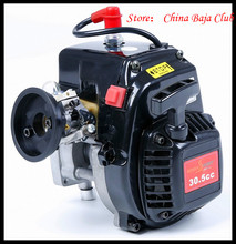 30.5cc 4 Bolt Motor Engine with 668 Carburetor Spark plug 8000RPM Clutch Fits HPI Baja 5B,LOSI 5iveT, Redcat, FG