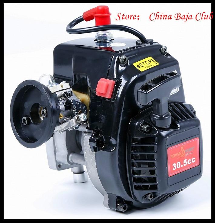 30.5cc Motore 4 Bolt Motore con 668 Carburatore candela 8000 RPM Frizione Fits HPI Baja 5B, LOSI 5 iveT, Redcat, FG
